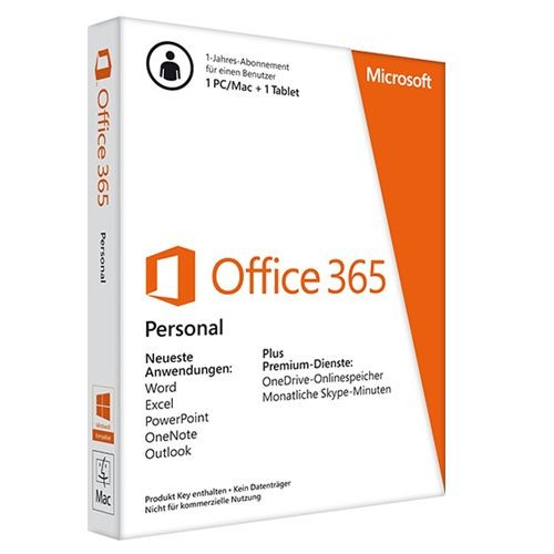 Microsoft Office 365 Personal PKC 1 User