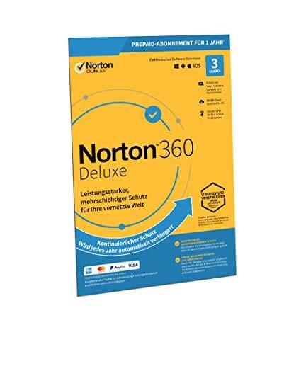 Symantec Norton 360 Deluxe - www.softperten.de