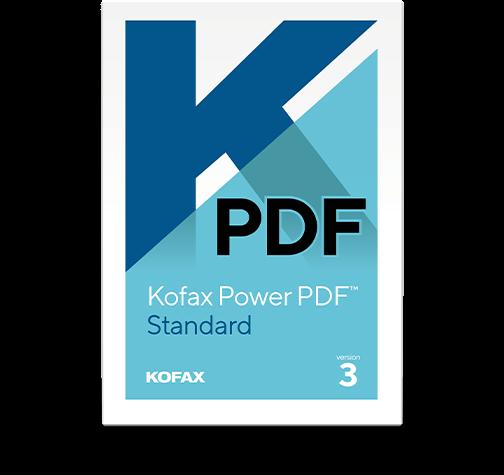 Kofax Power PDF 3.0 Standard - www.softperten.de