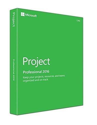 Microsoft Project Professional 2016, PKC Box, Deutsch