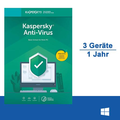 Kaspersky Anti-Virus 2020 - www.softperten.de
