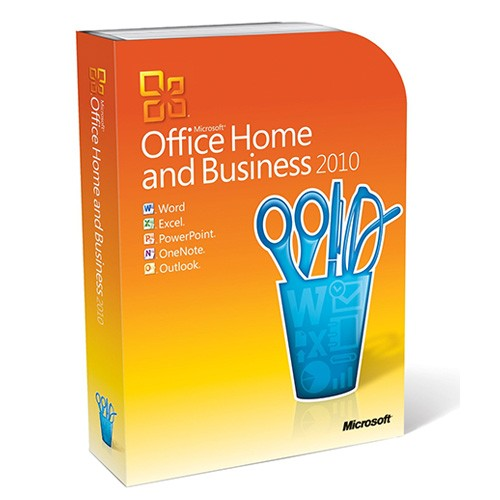 Microsoft Office Home and Business 2010 - Retail-Box inkl. Zweitnutzungsrecht X16-55073