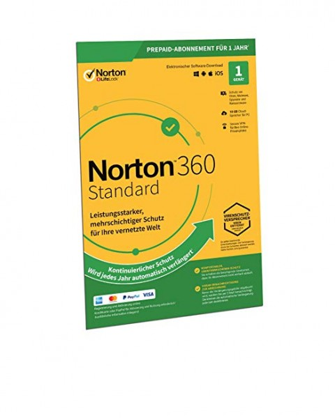 Symantec Norton 360 Standard - www.softperten.de