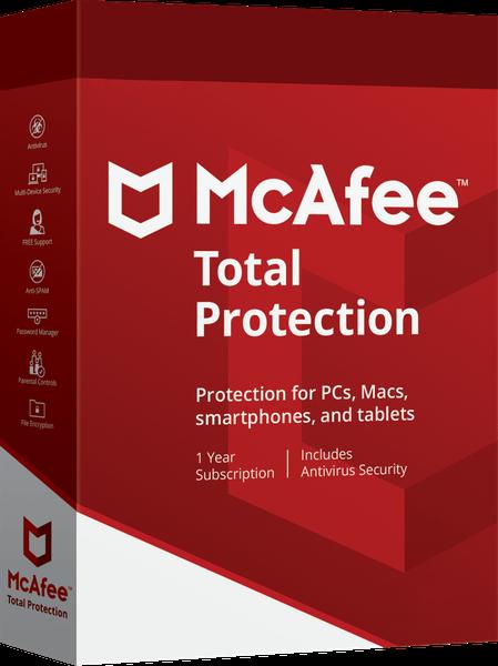 McAfee Total Protection 2020 - www.softperten.de