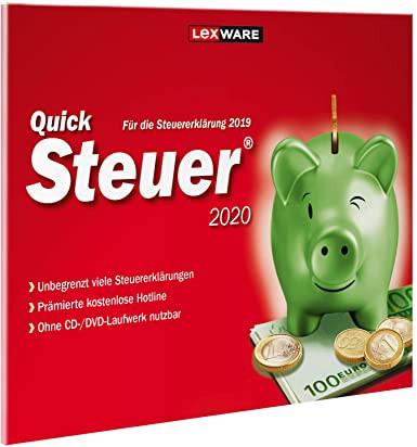 Haufe-Lexware GmbH & Co. KG Lexware Quick Steuer 2020 Steuererklärung für 2019, Download 06810-2011