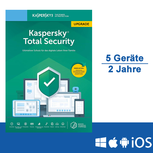 Kaspersky Total Security 2019 Upgrade - www.softperten.de