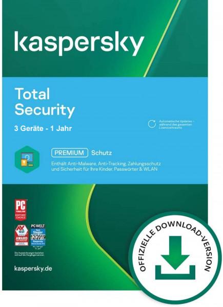 Kaspersky Total Security 2021 - www.softperten.de
