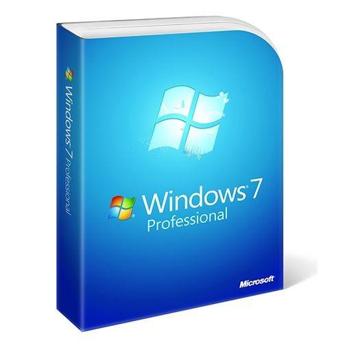 Windows 7 Professional SP 1 inkl. DVD - 64-bit - Systembuilder, DSP - NEU -