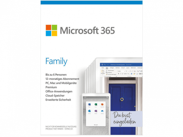 Microsoft 365 Family - www.software-shop.com.de
