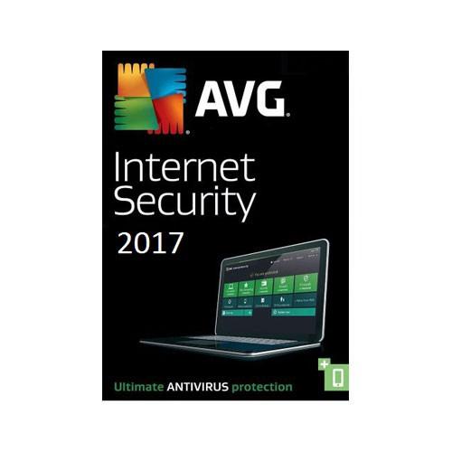 AVG Internet Security 2017 - 3 Geräte - 1 Jahr, ESD, Download, Deutsch