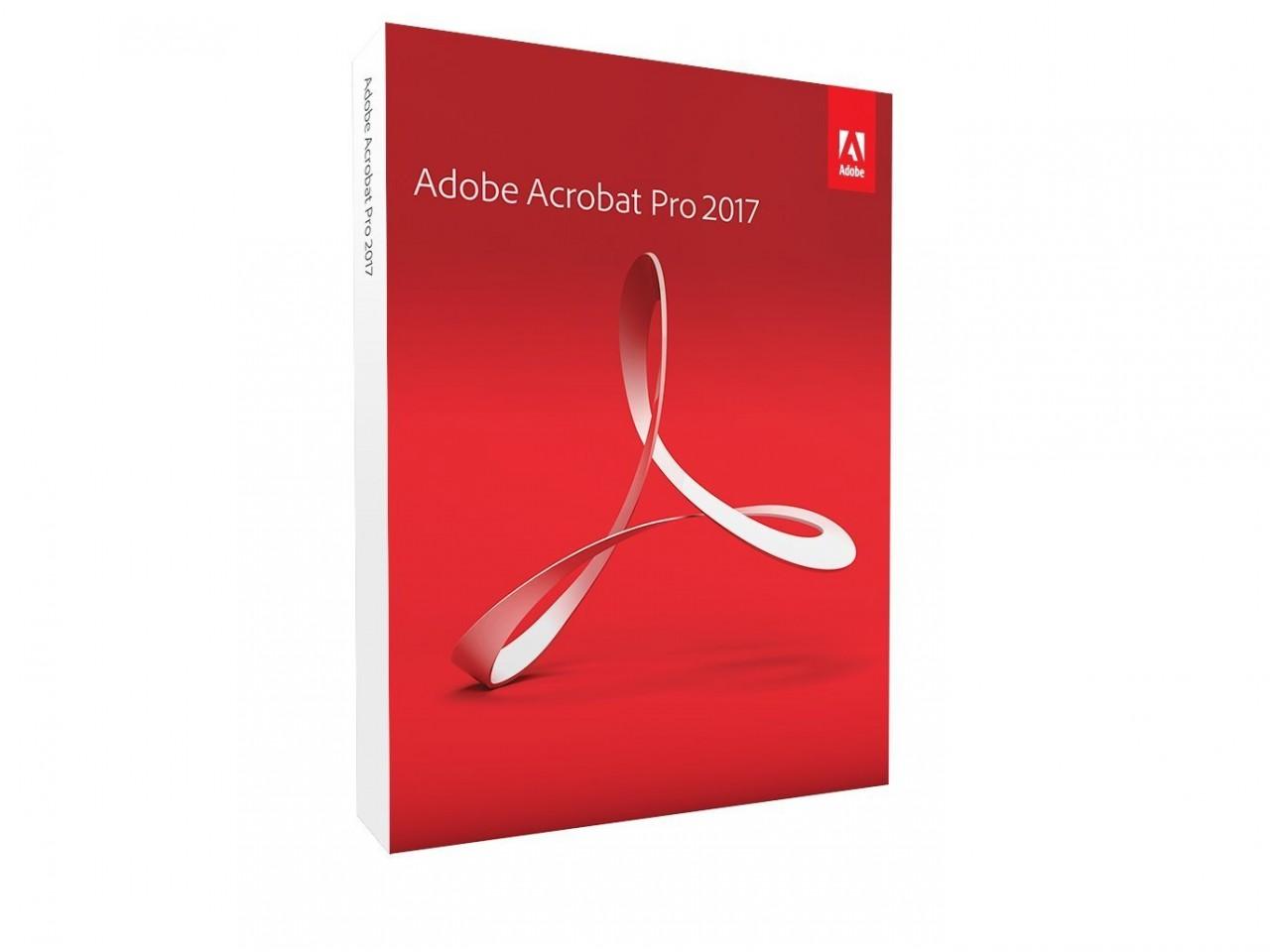 Adobe Acrobat 2017 Pro, Deutsch, Bundle, Vollversion