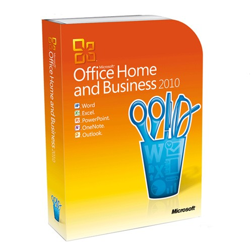 Microsoft Office 2010 Home and Business Vollversion OEM inkl. DVD - NEU -