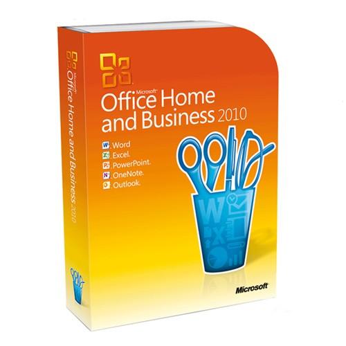 Microsoft Office 2010 Home and Business Vollversion inkl. DVD mit Zweitnutzungsrecht