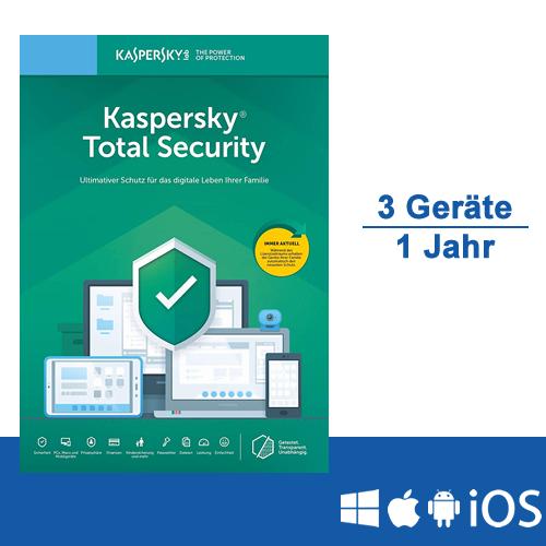Kaspersky Total Security 2020 - www.softperten.de