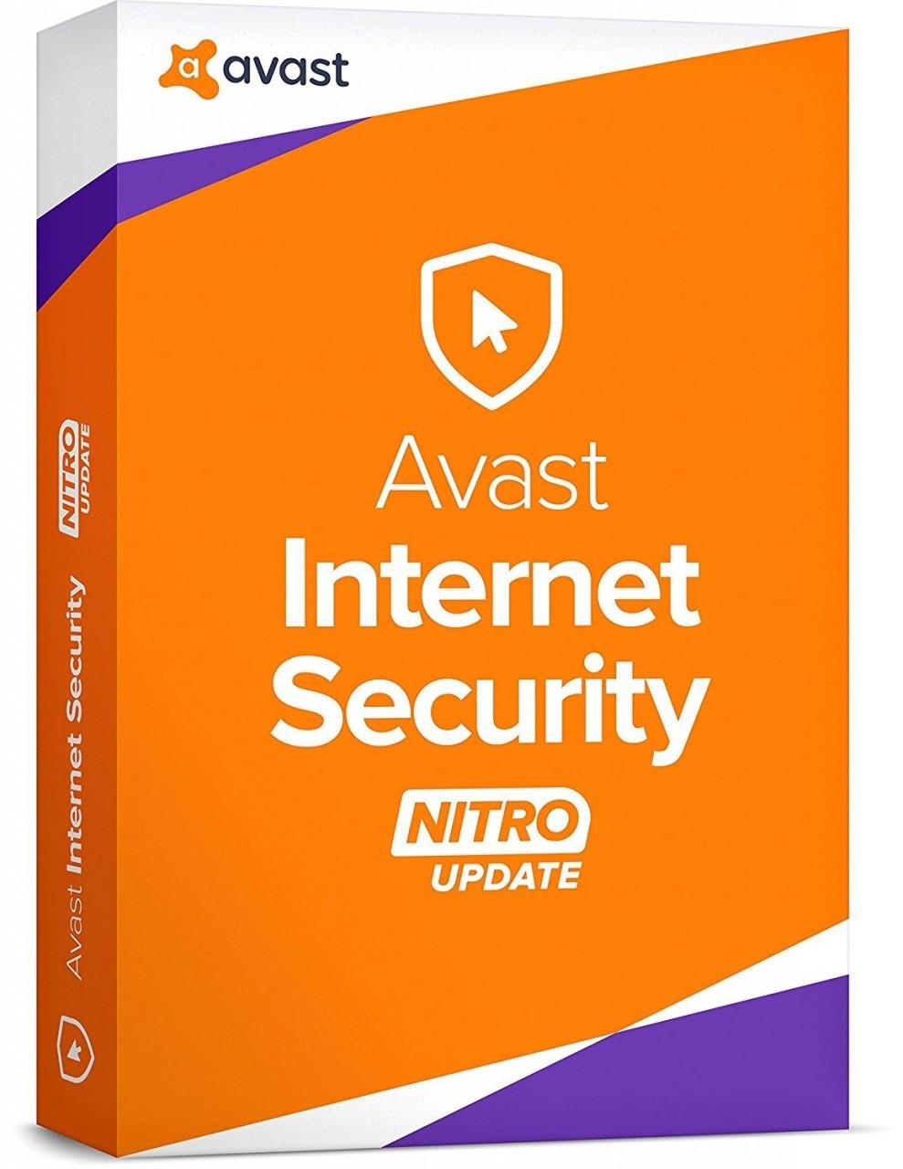 Avast! Avast Internet Security 2017, 3 Geräte, 1 Jahr, ESD, Download