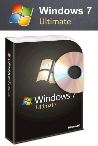 Windows 7 Ultimate Retail-Box inkl. DVD - 32 und 64-bit