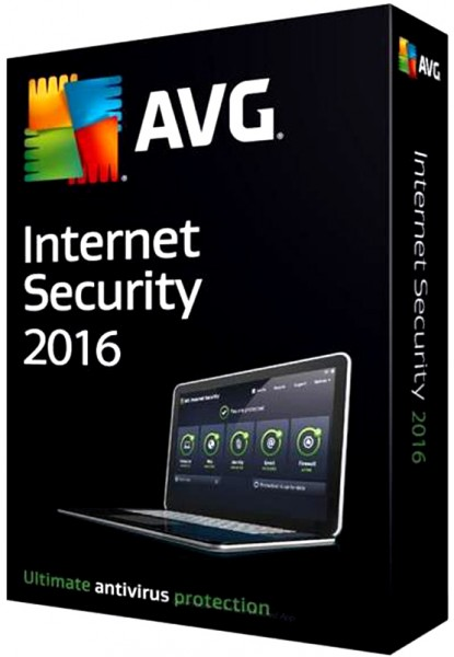 AVG Internet Security 2016 - 3 PC - 1 Jahr, ESD