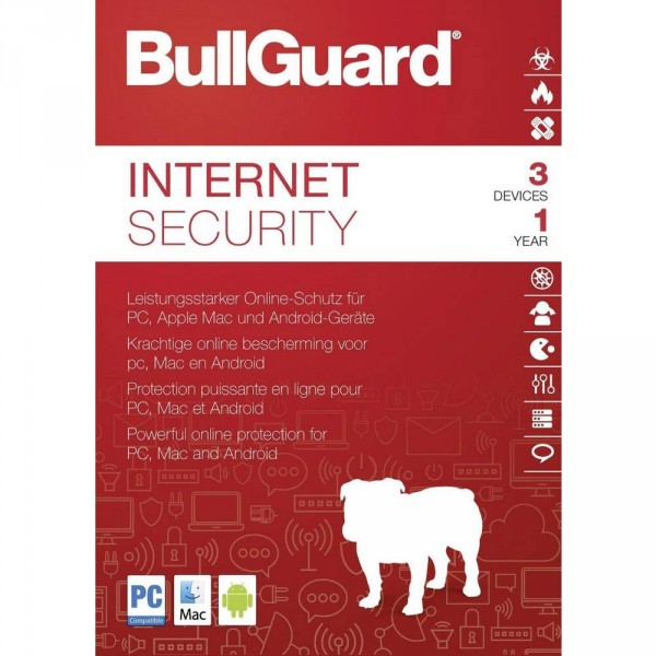 BullGuard Internet Security 2019 - www.softperten.de