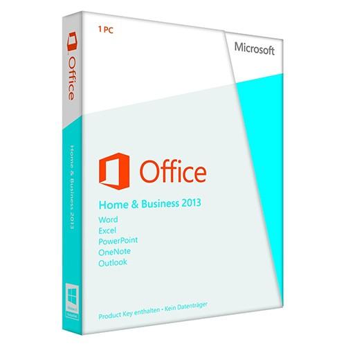 Microsoft Office Home and Business 2013 PKC 1 PC -NEU-