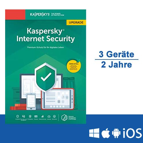 Kaspersky Internet Security 2019 Upgrade - Multi-Device, 3 ...