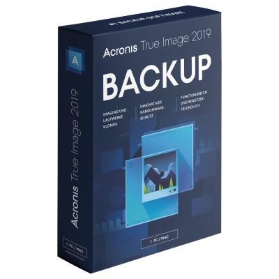 Acronis True Image 2019 1 Gerät PC/MAC, Download