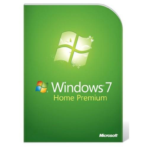 Windows 7 Home Premium inkl. DVD - 32-bit
