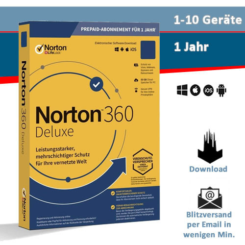 Norton 360, 1-10 Geräte