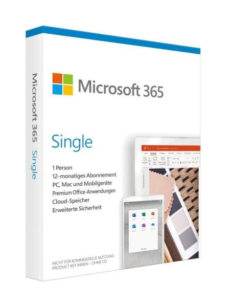Microsoft 365 Single - www.software-shop.com.de