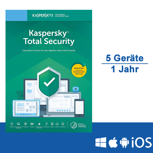 Kaspersky Total Security 2019 - www.softperten.de