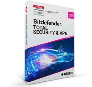 Bitdefender Premium Security, unlimitiert VPN, 10 Geräte - 1 Jahr