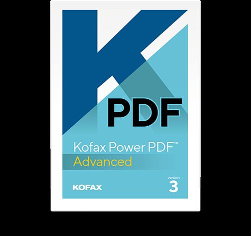Kofax Power PDF 3.0 Advanced - www.softperten.de